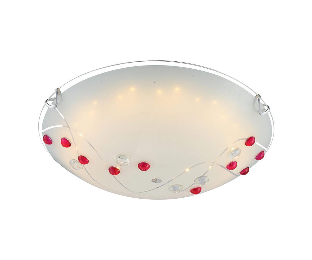 40428 PALILA Потолочный светильник40428 Большой популярностью пользуются настенно-потолочные светильники Globo PALILA 40428, покоряя своим разнообразием. Здесь и классика, и современность, и оригинальность, и дизайнерские экземпляры. Настенно-потолочные светильники Globo подойдут для освещения кухни, ванной, прихожей и многих других местах. Изготавливаются настенно-потолочные светильники в виде плафонов (разного цвета и формы) со скрытой лампой, позволяя их устанавливать и на стену и на потолок.