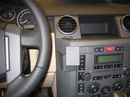 Brodit крепежный комплект центральный Land Rover Discovery 3 05-09, цвет: черный. 853572853572Крепежный комплект центральный для Land Rover Discovery 3 05-09, цвет: черный. 853572На автомобильный крепежный комплект Brodit устанавливается держатель Brodit для конкретной модели мобильного устройства.Держатель продаётся отдельно. Держатели и установочные комплекты Brodit совместимы между собой.