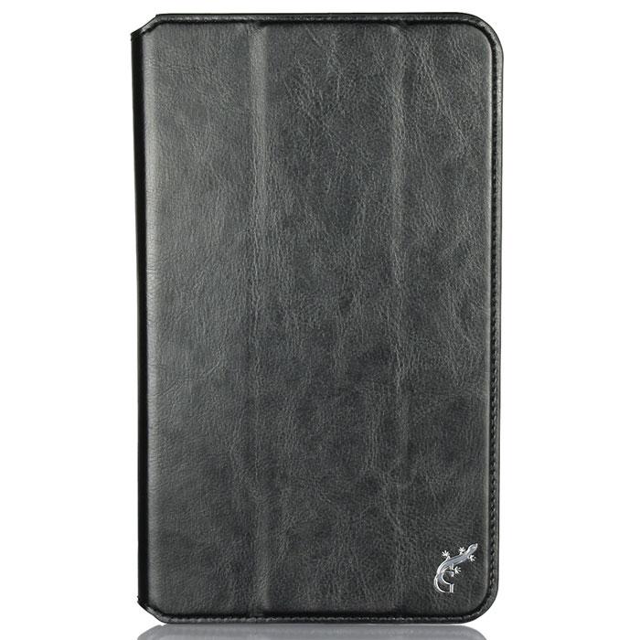 G-Case Executive чехол для Asus MeMO Pad 8, BlackGG-532G-Case Executive - прочный и надежный чехол для вашего планшета Asus MeMO Pad 8, который удерживается в нем, благодаря широкой рамке по всему периметру корпуса. Высококачественные материалы гарантируют длительный срок службы чехла, а его конструкция - удобство использования, в том числе и как подставки с двумя устойчивыми положениями.