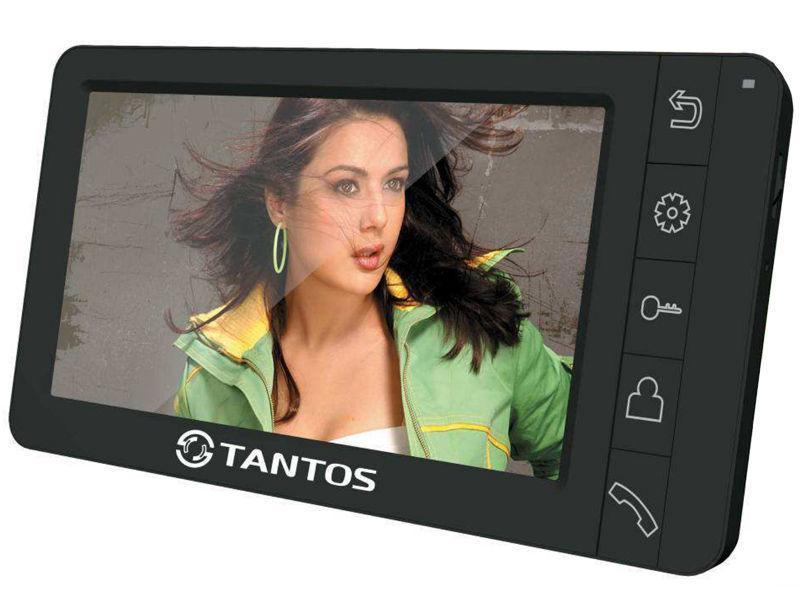 Tantos Amelie, Black монитор видеодомофона00-00014976Цветной видеодомофон TANTOS AMELIE является представителем 7 дюймовых домофонов TANTOS среднего класса. Основной областью применения модели видеодомофона TANTOS AMELIE является установка видеодомофона в квартире или в частном доме. Одной и важных отличительных особенностей модели AMELIE является современный дизайн и компактные размеры. Так же важным аспектом является то что корпус видеодомофона TANTOS AMELIE выполнен из качественного и долговечного пластика. Для расшиерни я ассортимента и области применения модели TANTOS AMELIE данный видеодомофон выпускается в двух цветовых исполнениях Черный и Белый. Монитор видеодомофона TANTOS AMELIE оборудован 7 дюймовым экраном LSD с встроенной LED подсветкой что позволяет достич достаточно высокого качества изображения и увеличивает срок службы домофона.