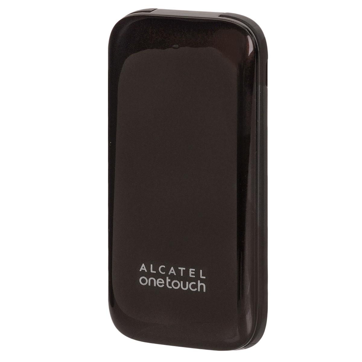 Alcatel OT-1035D Dual Sim, Dark Chocolate1035D-2AALRU1-1Мобильный телефон-раскладушка Alcatel OT-1035D с поддержкой 2 SIM-карт. Модель имеет ЖК-экран с диагональю 1.8 и разрешением 128х160 точек. Телефон оснащен встроенным аудиоплеером и FM радиоприемником с функцией RDS.Встроенная память: 32 МБТелефон сертифицирован Ростест и имеет русифицированную клавиатуру, меню и Руководство пользователя.