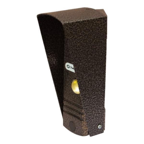 Tantos Walle, Copper вызывная панель видеодомофона00-00015501Антивандальная вызывная панель с цветным модулем высокого разрешения 700 ТВЛ,высококачественный звук.Стандартная, четырех проводная схема подключения.Совместима с наиболее распространенными марками домофонов.Подсветка: Белая, светодиодная. Минимальная освещенность: 0.1 люкс на объекте(подсветка включена).