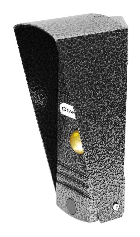 Tantos Walle, Silver вызывная панель видеодомофона00-00016669Walle - 4-х проводная антивандальная накладная вызывная панель с цветным модулем видеокамеры высокого разрешения. Оснащена цветной видеокамерой разрешением 700 ТВл с углом обзора 50°. Корпус панели окрашен полиэфирной порошковой краской, что обеспечивает высочайшую стойкость к любым атмосферным воздействиям. Данная панель работает как с электромагнитными, так и с электромеханическими замками. Для удобства использования панель оснащена светодиодной подсветкой белого цвета. Питание осуществляется от монитора.