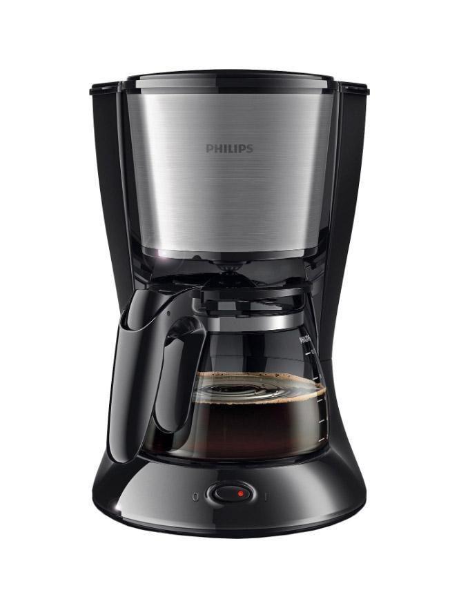 Philips HD7457/20 капельная кофеваркаHD7457/20Наслаждайтесь отличным кофе благодаря надежной кофеварке Philips HD7457/20 со стильным дизайном и компактной конструкцией, которая обеспечивает удобство хранения. Индикатор уровня водыЧтобы вам было удобно следить за объемом воды в резервуаре, компания Philips разработала инновационный индикатор.Система капля-стопСистема капля-стоп позволяет в любой момент прервать приготовление и налить в чашку ароматный кофе.Удобство очисткиДля удобной очистки все детали этой кофеварки Philips можно мыть в посудомоечной машине.Объем 1,2 л на 10–15 чашекКувшин кофеварки рассчитан на 1,2 л кофе, то есть на 10–15 чашек (в зависимости от размера чашки)
