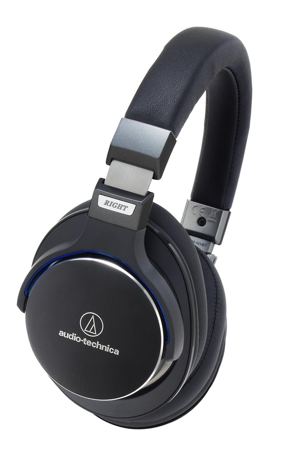 Audio-Technica ATH-MSR7, Black наушникиATH-MSR7 BKAudio-Technica ATH-MSR7 – это полноразмерные универсальные наушники, сочетающие в себе Hi-Fi-звук и премиальный дизайн, сдержанный и стильный. Модель разработана на базе новой воздушно-потоковой технологии, позволяющей улучшить звучание за счет особой циркуляции воздуха в корпусе устройства. Мягкие амбушюры наушников MSR7 способны запоминать форму уха, сводя давление до минимума и обеспечивая долгие часы комфортного прослушивания.