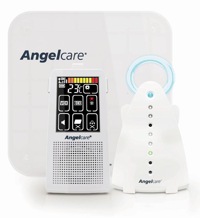Радионяня-монитор дыхания Angelcare AC701 - Безопасность ребенка