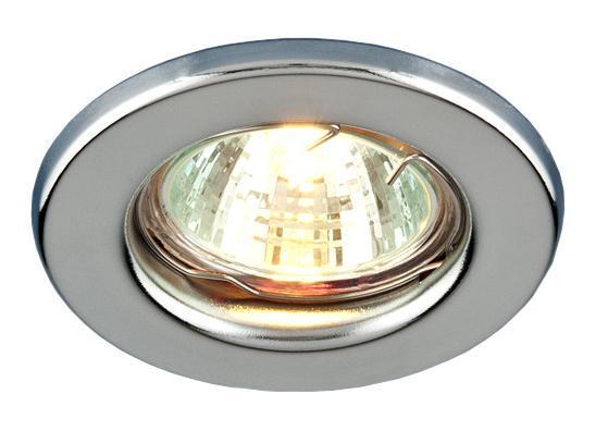 Точечный светильник Elektrostandard 9210 CH (хром)a030078Точечные светильники Elektrostandard могут использоваться в любых помещениях – спальня, кухня, ванная, в торговых и производственных помещениях. Точечные светильники подходят для натяжных, подвесных и реечных потолков. Благодаря особой технологии нанесения красителя и гальваники, светильники могут быть использованы в помещениях с повышенной влажностью, например в ванной.