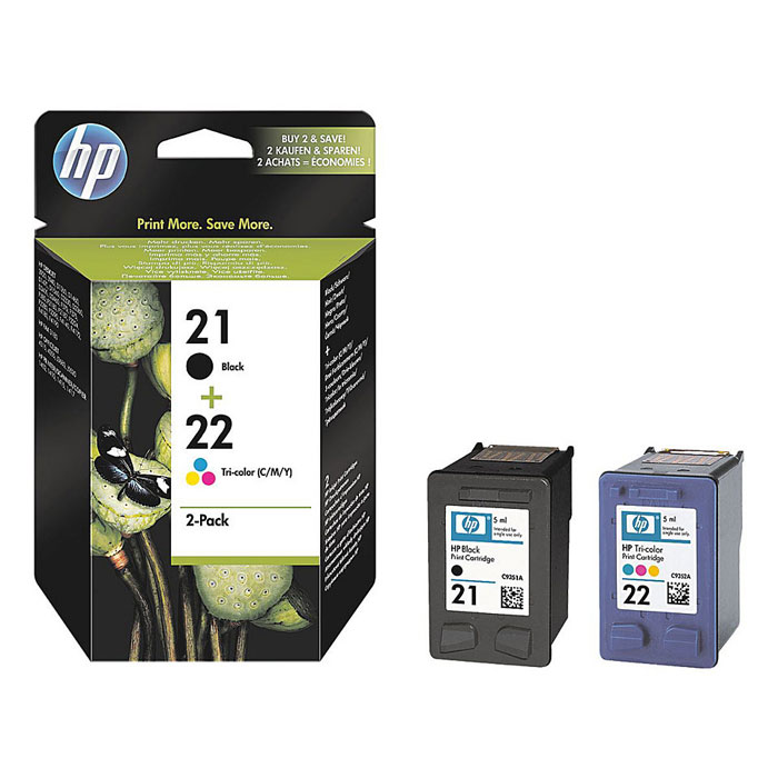 HP SD367AE (21) (C9351АE/C9352AE), Black Сolor картриджи для струйного принтера  цена