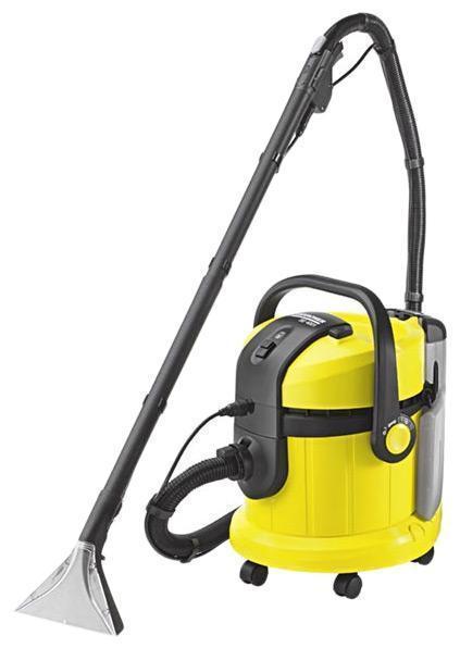 Karcher SE 4002 1.081-140.0 моющий пылесос1.081-140.0Несмотря на ежедневный уход, ковровое покрытие пола со временем становится все более невзрачным. В местах, где больше всего ходят, образуются некрасивые дорожки, которые не удаляются при обычной чистке пылесосом. Поэтому тем, кто хочет сэкономить на дорогостоящей чистке силами специалистов, лучше всего использовать моющие пылесосы Karcher. Моющий пылесос для распыления с экстракцией SE4002 выполняет чистку ковра с проникновением глубоко в поры. Karcher SE 4002 имеет преимущества: использование отдельного бака для чистой воды. Грязная вода не соприкасается с чистой. Моющий пылесос SE4002 гарантирует оптимальную глубокую чистку и комфортную работу. Можно использовать как пылесос сухой уборки. Karcher SE 4002 предназначен для качественной очистки ковров, диванов и полов с твердым покрытием. Удобен в эксплуатации, прост в очистке и хранении. Объем емкости для чистой воды - 4 литра, для грязной - 4 литра.