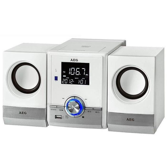 AEG MC 4461 BT, White микросистема - Музыкальные центры