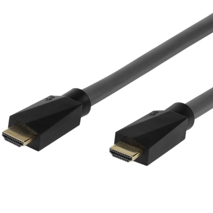 Vivanco кабель HDMI/HDMI, 10 м31987Vivanco Soundimage - это высокоскоростной HDMI кабель c Ethernet-каналом, который позволяет подключать аудио/видео ресиверы и другие устройства к интернету без дополнительного сетевого кабеля. Технология Audio Return Channel (реверсивный звуковой канал) позволяет телевизору через единственный HDMI кабель передавать аудио данные на аудио/видео ресивер, предоставляя пользователю дополнительную гибкость и избавляя его от необходимости использовать дополнительные аудиоподключения.
