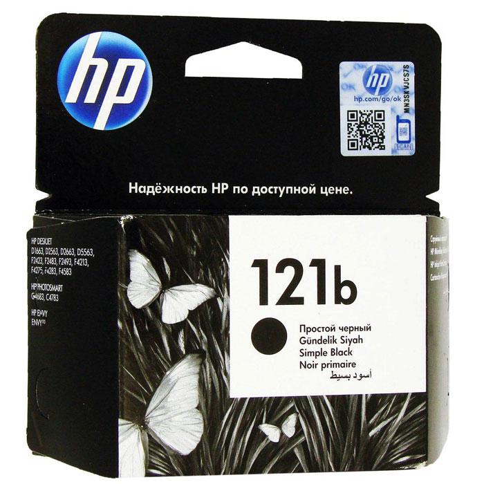 HP CC636HE (121b), Black струйныйкартриджCC636HEКартридж HP 121b с черными чернилами для печати черно-белых текстов. Печатайте текстовые документы на