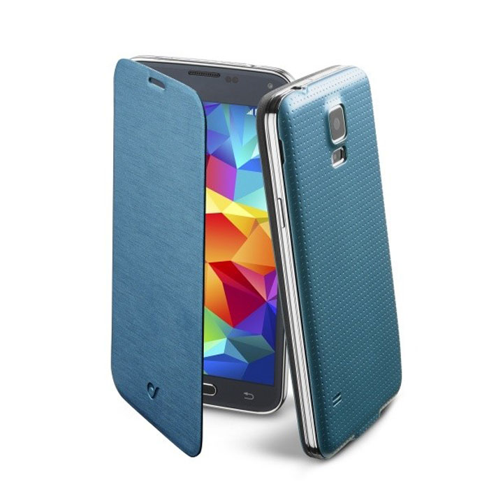 Cellular Line Flip Book чехол для Samsung Galaxy S5 (20684), Blue storyfun for starters student s book