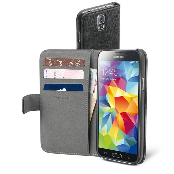 Cellular Line Book Agenda чехол для Samsung Galaxy S5 (20802)BOOKAGENDAGALS5BKCellular Line Book Agenda чехол для Samsung Galaxy S5 предназначен для защиты корпуса смартфонаот механических повреждений и царапин в процессе эксплуатации.