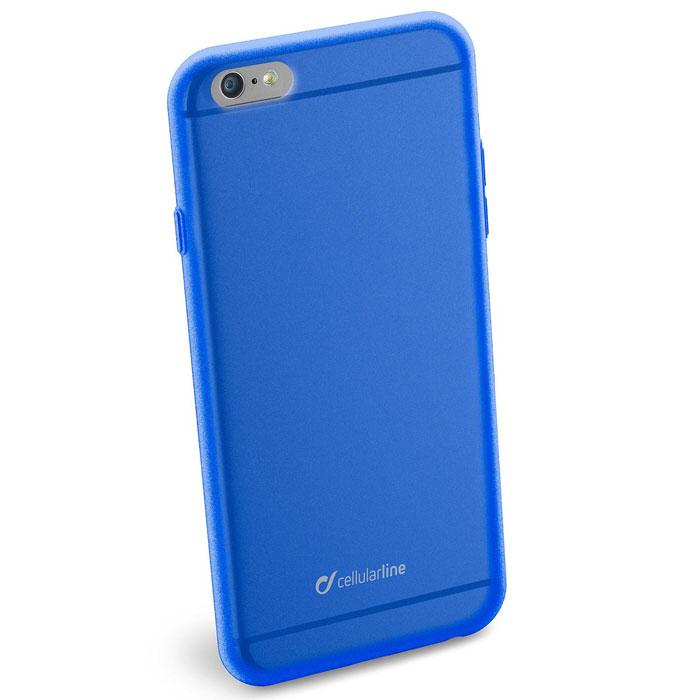Cellular Line Color Slim чехол для iPhone 6 Plus, BlueCOLORSLIPH655BCellular Line Color Slim - мягкий и качественный полупрозрачный чехол для вашего смартфона в различных цветовых вариациях. Все разъемы и элементы управления устройством легко доступны.