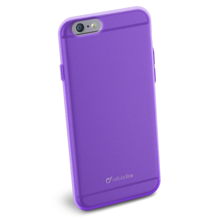 Cellular Line Color Slim чехол для iPhone 6, Purple cellular line spvanityiphone5