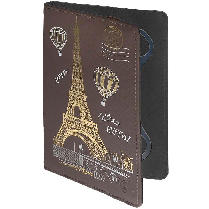 Vivacase Paris чехол для планшетов 7, Brown (VUC-CPR07)VUC-CPR07-brЧехол-книжка Viva Paris - это яркий защитный аксессуар для удобного использования и транспортировки планшета. Чехол сохраняет привлекательность корпуса устройства и предотвращает появление мелких механических повреждений в результате повседневной эксплуатации и перевозки планшета. Накидная резинка обеспечивает дополнительную защиту устройства от выпадения.