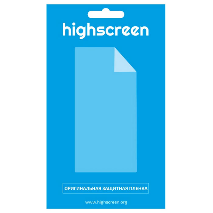 Highscreen оригинальная защитная пленка для Zera F (rev. S), матовая22328Матовая защитная пленка для смартфона Highscreen Zera F (rev.S). Пленка предназначена для защиты сенсорного экрана от повреждений и царапин.