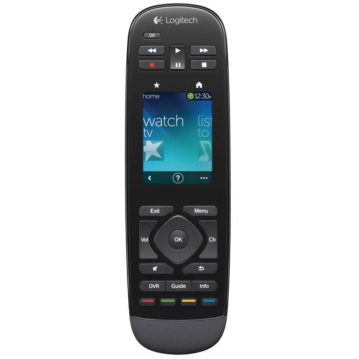 Logitech Harmony Touch (915-000200) пульт ДУ915-000200Logitech Harmony Touch - пульт управления, который способен контролировать до 15 устройств одновременно. Аппаратные кнопки оснащены подсветкой и отвечают лишь за часто используемые функции. С остальными задачами справится 2,4 сенсорный дисплей. Стоит провести по нему вправо или влево, как в видео активируется перемотка, а жестами вверх-вниз можно перемещаться по меню телевизора или другой совместимой техники. В быстрый доступ можно добавить до 50 каналов, которые отображаются в виде иконок подобно списку программ на смартфонах. При установке пульта в док-станцию происходит подзарядка аккумулятора.