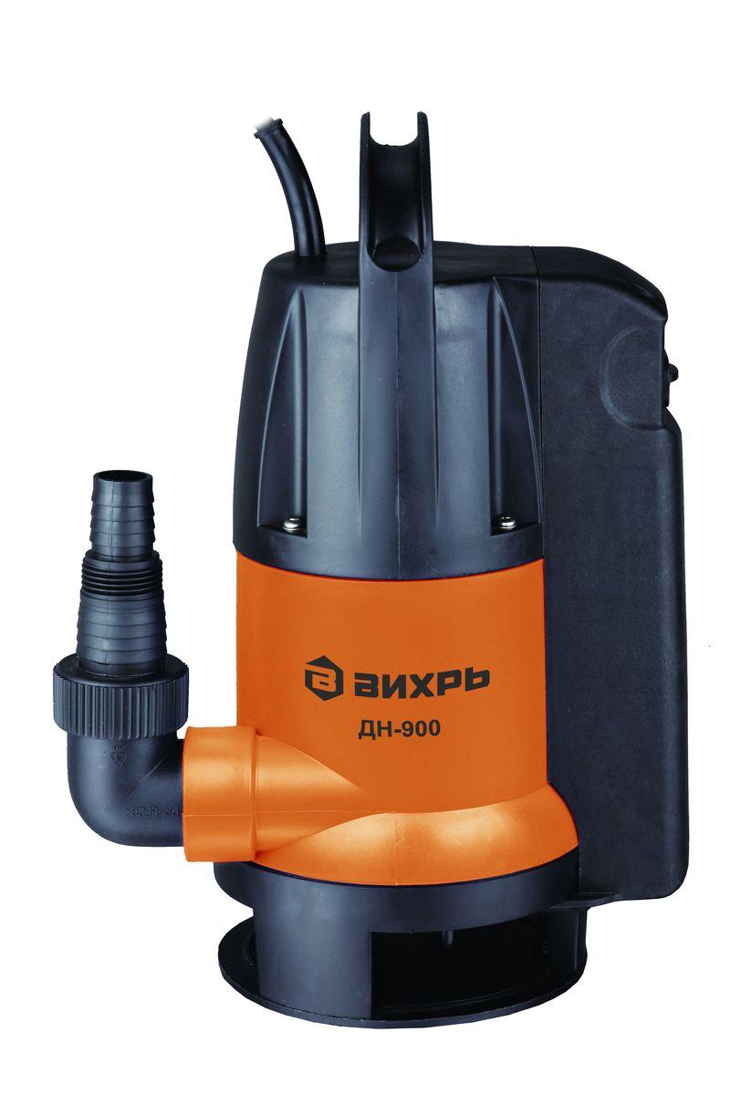 Дренажный насос Вихрь ДН-90068/2/3Дренажный насос Вихрь ДН-900 предназначен для перекачки чистых, дождевых, дренажных и грунтовых вод. Насос может использоваться для орошения или подачи воды из колодцев, открытых водоемов и других источников.