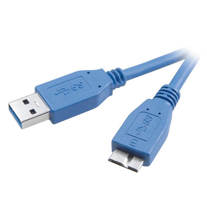 Vivanco кабель USB 3.0 А/micro USB, Blue, 1.8 м45278Кабель Vivanco с коннекторами USB 3.0 Type A и micro USB предназначен для подключения различных устройств к вашему ПК. Данная модель обеспечивает высокую скорость передачи данных (до 5 Гбит/с). Кабель имеет прочную и надежную оплетку.