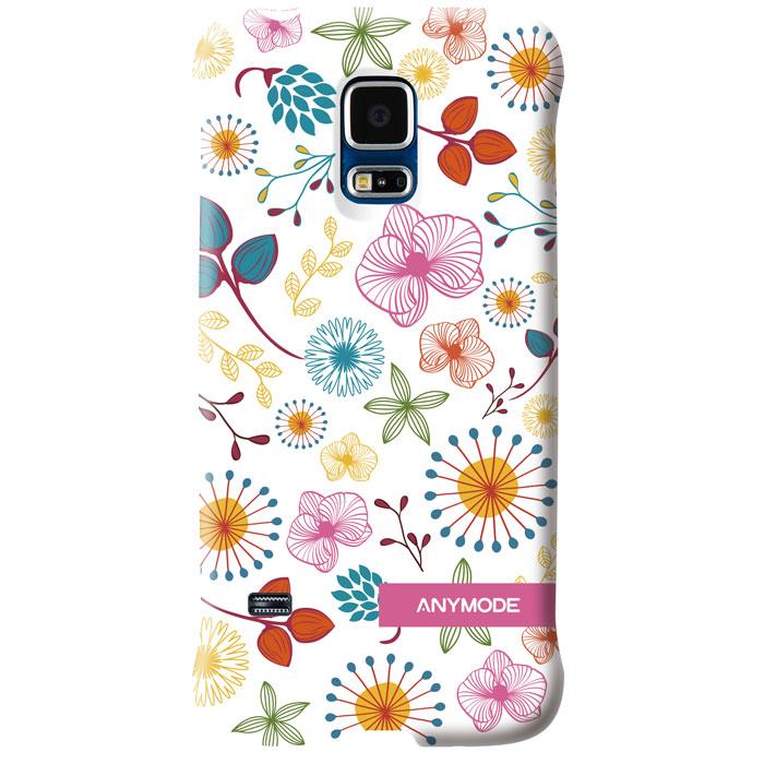 Anymode Цветы задняя панель для Samsung S5 mini, WhiteFABP010KA1Задняя панель Anymode Цветы защитит ваш смартфон от царапин и повреждений и придаст ему уникальный облик за счет оригинального дизайна панели.