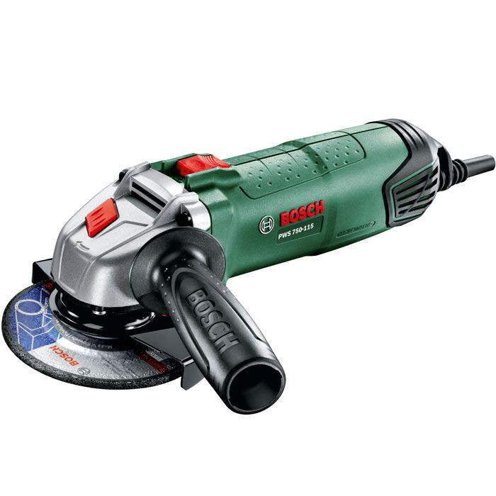 Угловая шлифмашина Bosch PWS 750-115 (06033A2420)06033A2420