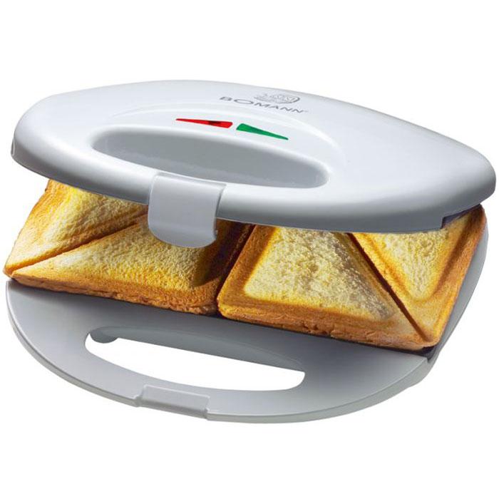 Bomann ST 5016 CB сэндвичницаST 5016 CB weibСэндвичница Bomann ST 5016 CB служит для приготовления треугольных сэндвичей. Она позволяет сделать 4 порции горячих бутербродов. Антипригарное покрытие делает чистку прибора проще и гарантирует, что изделие не подгорит.