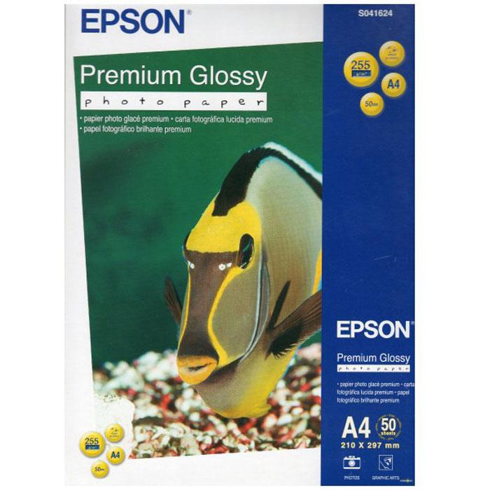 Epson Premium Glossy Photo Paper (C13S041624) фотобумага, 50 листовC13S041624Высококачественный материал Epson Premium Glossy Photo Paper на бумажной основе с глянцевым полимерным покрытием предназначен для печати изображений профессионального качества - фотографий, интерьерной графики.Толщина (мм): 0.27Прозрачность: 96%Яркость: 97%