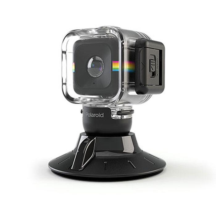 Polaroid Cube Waterproof Case with Suction Mount аквабокс для экшн камерыPOLC3WSMВодонепроницаемый кейс Polaroid Cube Waterproof Case with Suction Mount с креплением-присоской в комплекте. Разработан специально для Polaroid Cube.Крепление для ровной и гладкой поверхностиПлатформа наклоняется для идеального углаКамера легко снимается благодаря универсальному зажимуИзготовлено из высококачественных пластика и резиныМатериал: Пластик, резина