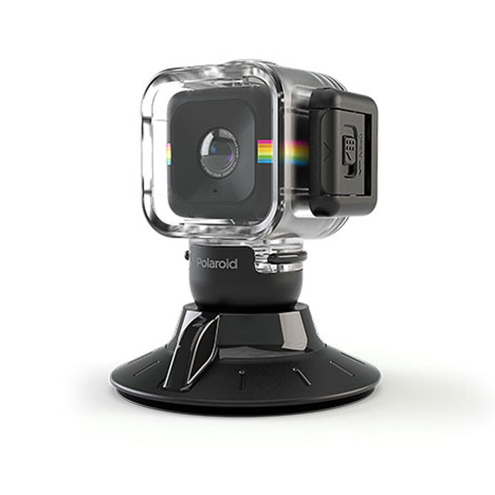 Polaroid Cube Waterproof Case with Suction Mount аквабокс для экшн камеры - Фотоаксессуары