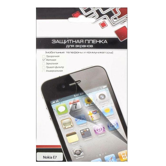 Liberty Project защитная пленка для Nokia E7, матоваяCD020610Защитная пленка Liberty Project предназначена для защиты поверхности экрана Nokia E7, а также частей корпуса цифрового устройства от царапин, потертостей, отпечатков пальцев и прочих следов механического воздействия. Данная защитная пленка не снижает чувствительности на нажатие. На защитной пленке есть все технологические отверстия. Потребительские свойства и эргономика сенсорного экрана при этом не ухудшаются.
