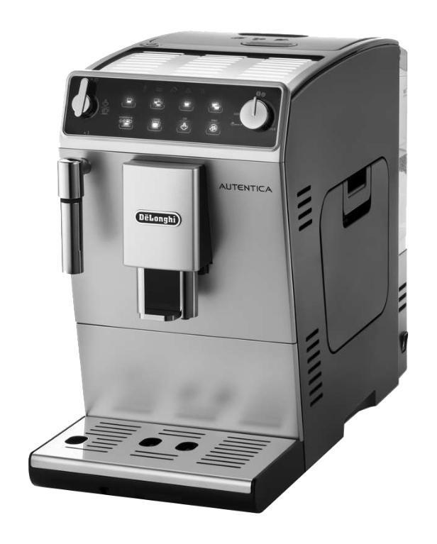 DeLonghi ETAM 29 510 SB кофемашинаETAM 29 510 SBПриготовьте Ваш любимый кофе с Autentica от DeLonghi. С двумя новыми функциями в кофемашине найдется что-то для каждого. Вы любите Американо? Нажмите на кнопку Long и наслаждайтесь любимым вкусом кофе в любое время суток.
