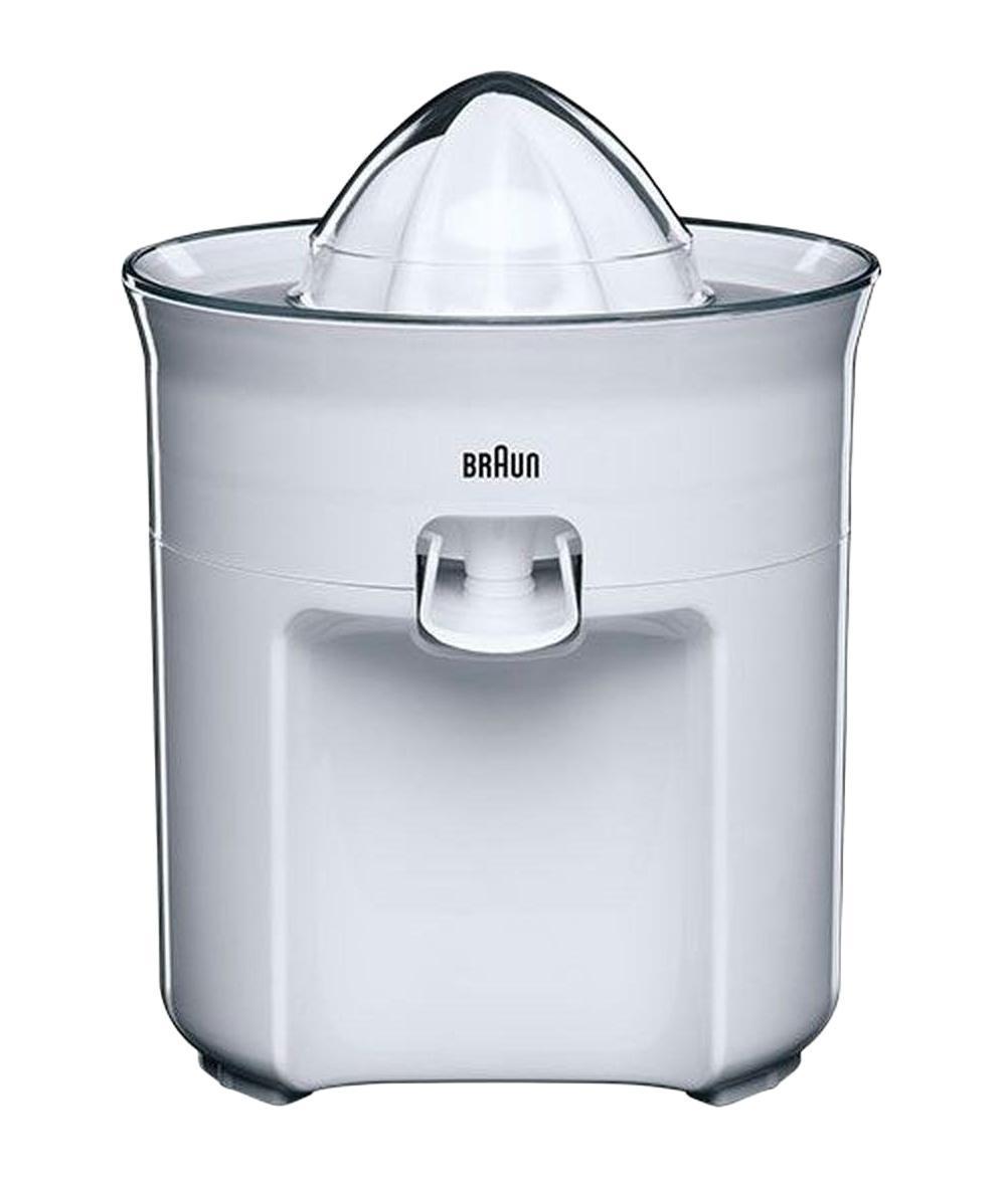 Braun CJ3050WH соковыжималкаCJ 3050Для безупречного результата и для лучшего отжима, носик соковыжималки предотвращает разбрызгивание. Можете использовать за столом для завтрака.