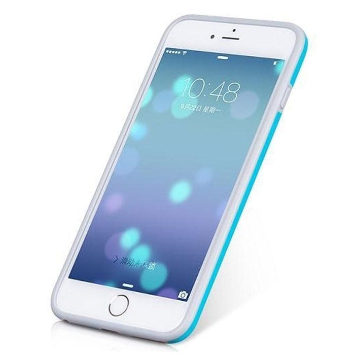 Hoco Coupe Series Double Color чехол-бампер для iPhone 6 Plus, Light BlueR0007622Чехол-бампер Hoco Coupe Series Double Color для iPhone 6 Plus гарантирует надежную защиту корпуса вашего смартфона от внешнего воздействия. Чехол изготовлен из качественного термопластика (TPU) и поликарбоната (PC) и имеет необходимые отверстия для разъемов и кнопок.