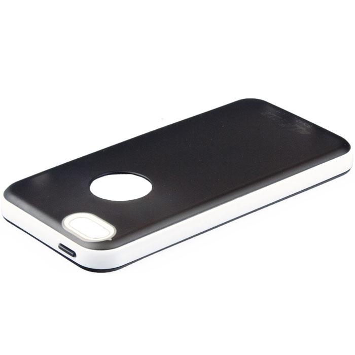 LF TPU чехол для iPhone 5c, White BlackR0000306Задняя крышка (кейс) LF TPU для iPhone 5c гарантирует надежную защиту корпуса вашего смартфона от внешнего воздействия (пыль, влага, царапины). Чехол изготовлен из качественного термопластика (TPU) и имеет отверстия для камеры, разъемов и кнопок.
