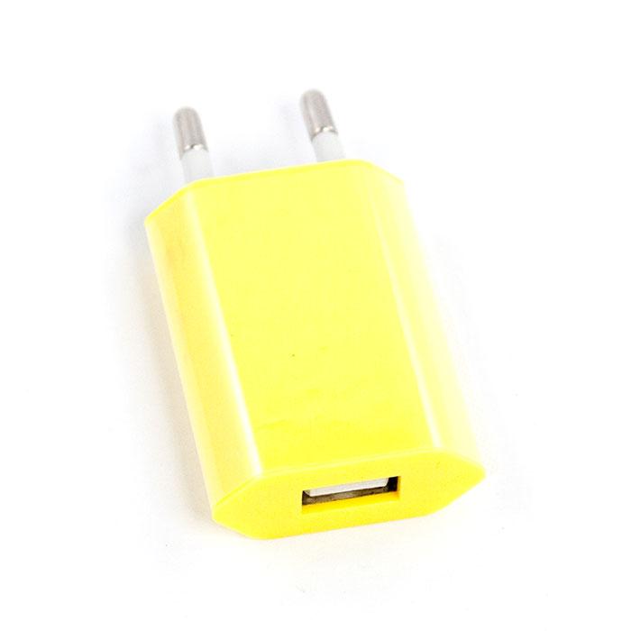 Liberty Project зарядное устройство 1А, YellowR0003916Сетевое зарядное устройство Liberty Project для смартфонов, планшетных ПК и совместимых устройств.