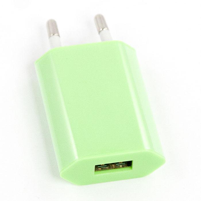 Liberty Project зарядное устройство 1А, GreenR0003917Сетевое зарядное устройство Liberty Project для смартфонов, планшетных ПК и совместимых устройств.