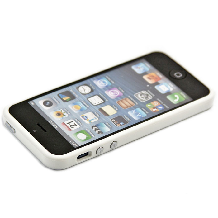 Liberty Project Bumpers чехол-накладка для iPhone 5/5s, White