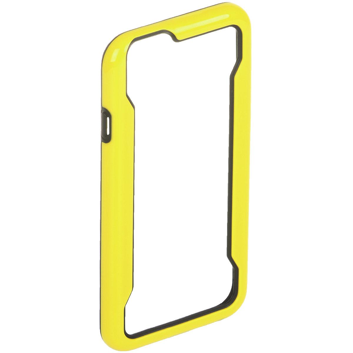 Liberty Project чехол-накладка для iPhone 6, Yellow BlackR0007955Защитная крышка Liberty Project служит защиты корпуса вашего смартфона от внешнего воздействия (пыль, влага, царапины). Модель доступна в различных цветах.