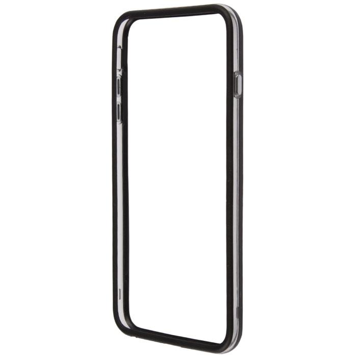 Liberty Project Bumpers чехол-накладка для iPhone 6 Plus, Clear Black