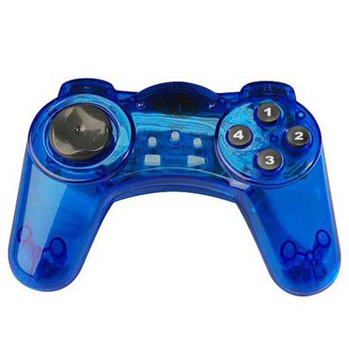Джойстик PC DVTech JS19 Gear (синий)