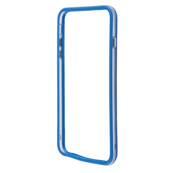Liberty Project Bumpers чехол-накладка для iPhone 6 Plus, Clear BlueR0006380Чехол-накладка Liberty Project Bumpers для iPhone 6 Plus защитит ваш гаджет от механических повреждений и влаги. Чехол имеет свободный доступ ко всем разъемам и клавишам устройства.