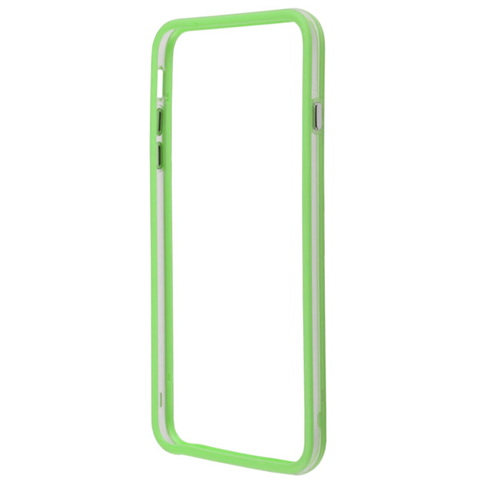 Liberty Project Bumpers чехол-накладка для iPhone 6 Plus, Clear Green