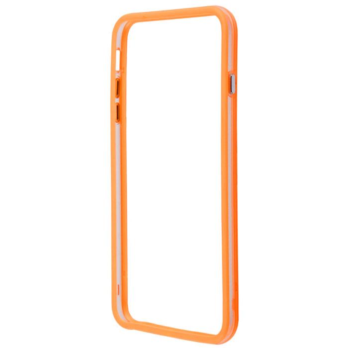 Liberty Project Bumpers чехол-накладка для iPhone 6 Plus, Clear Orange