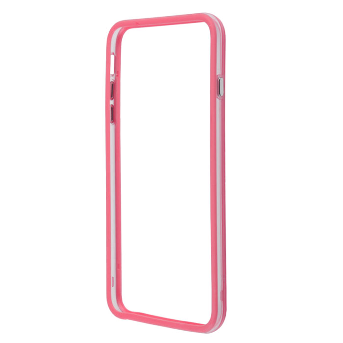 Liberty Project Bumpers чехол-накладка для iPhone 6 Plus, Clear Pink