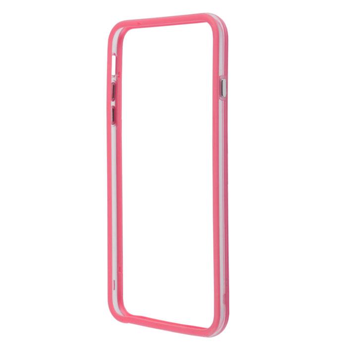 Liberty Project Bumpers чехол-накладка для iPhone 6 Plus, Clear PinkR0006383Чехол-накладка Liberty Project Bumpers для iPhone 6 Plus защитит ваш гаджет от механических повреждений и влаги. Чехол имеет свободный доступ ко всем разъемам и клавишам устройства.