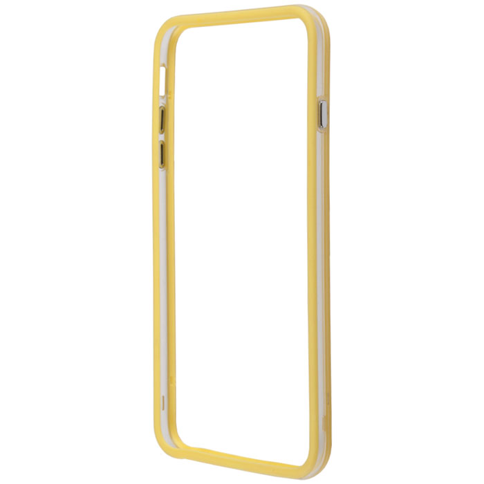 Liberty Project Bumpers чехол-накладка для iPhone 6 Plus, Clear Yellow