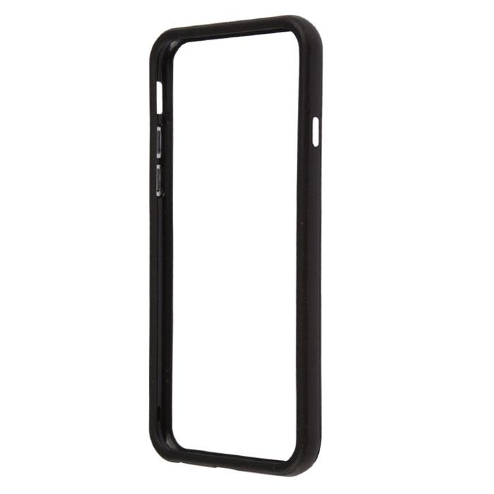 Liberty Project Bumpers чехол-накладка для iPhone 6, BlackR0006708Чехол-накладка Liberty Project Bumpers для iPhone 6 защитит ваш гаджет от механических повреждений. Чехол имеет свободный доступ ко всем разъемам и клавишам устройства.