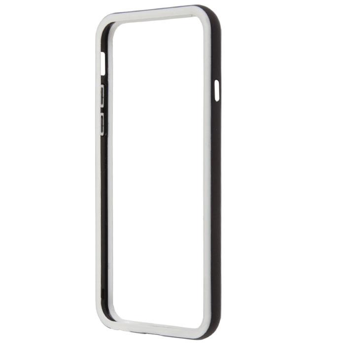 Liberty Project Bumpers чехол-накладка для iPhone 6, Black WhiteR0006713Чехол-накладка Liberty Project Bumpers для iPhone 6 защитит ваш гаджет от механических повреждений. Чехол имеет свободный доступ ко всем разъемам и клавишам устройства.